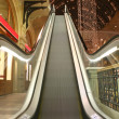 Escalator in shop — Stock Photo
