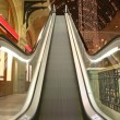 Escalator in shop - Stockfoto