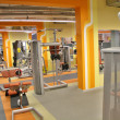 Gym interior - Stock Photo