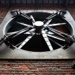 Stock Photo: Big fan