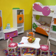 Child room, playroom — Stock Photo