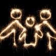 Family symbol sparkler - 