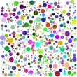 Color bubbles vector — Stock Photo
