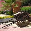 Stock Photo: Old cart wagon