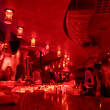 Stock Photo: Red bar interior