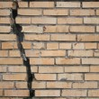 Broken wall - Foto de Stock