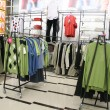 Male clothes in shop - Stock Photo