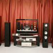 Foto de Stock  : Home theater 6