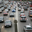 Many cars on road — Stock Photo #3643951