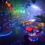 Night club interior — Stock Photo