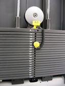 Part of fitness machine — Stock Photo