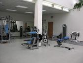 Health club gym — Stock Photo
