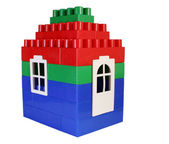 House toy with door — Stock Photo