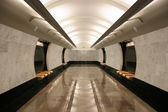 Empty subway station — Stock Photo