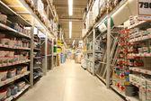 Materialen winkel bouwen — Stockfoto