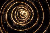 Sparkler spiral 2 — Stock Photo
