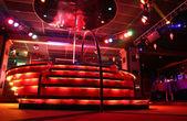 Night club podium — Stock Photo