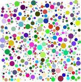 Color bubbles vector — Stock Photo