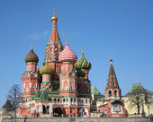 St. basil cathedral moscow (test canon 5D) — Stock Photo