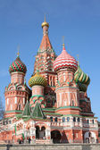 St. basil cathedral moscow — Stock Photo