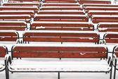 Winter auditorium — Stock Photo