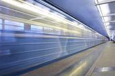 地下鉄駅、鉄道移動 — ストック写真