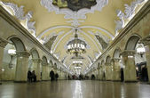 Most beautiful subway interior 1952 year — Стоковое фото