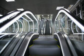 Escalators — 图库照片