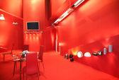 красный экспонат — Стоковое фото