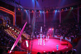 Acróbatas de circo — Foto de Stock