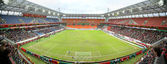 Football stadium panorama — Foto Stock