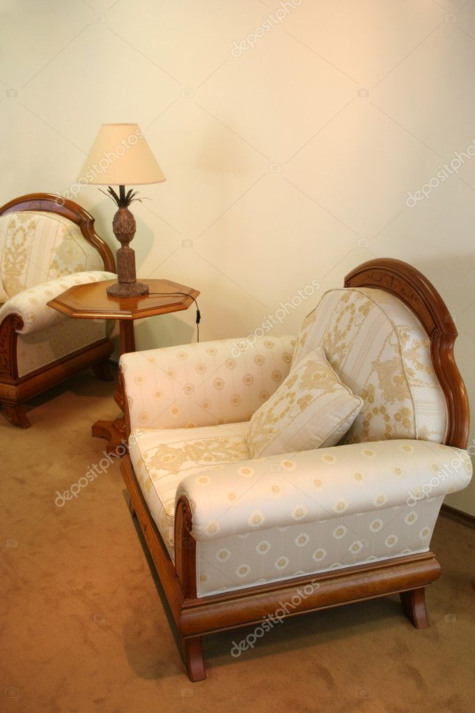 Easy chairs — Stock Photo #3642846