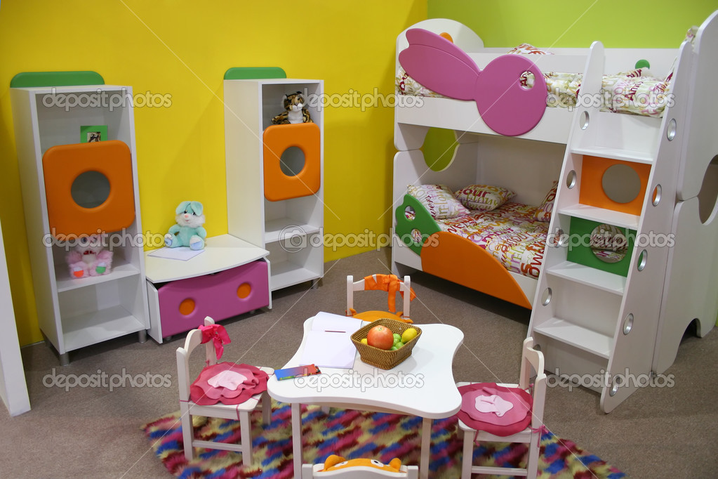 Child room, playroom — Stock Photo #3643274