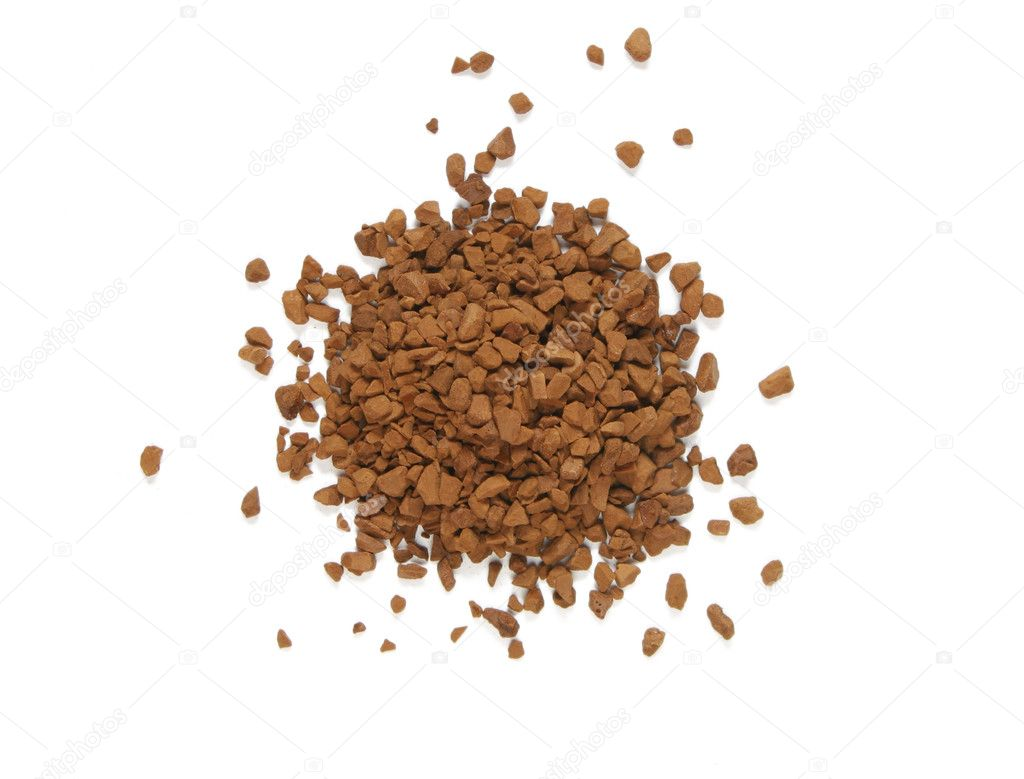 Dry coffee extract — Stock Photo #3643725