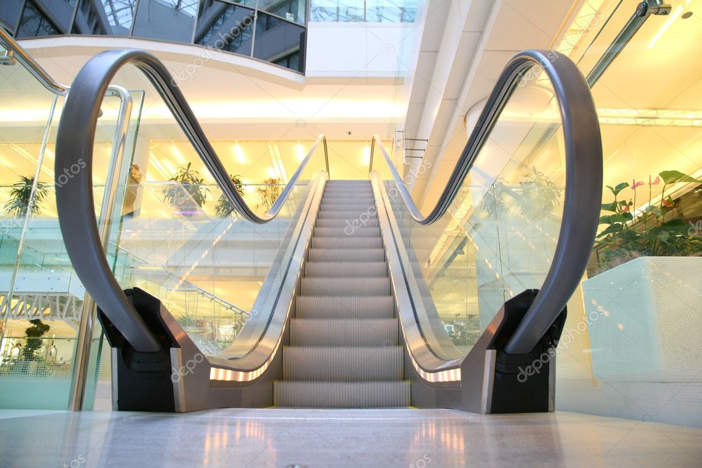 Escalator — Stock Photo #3643955