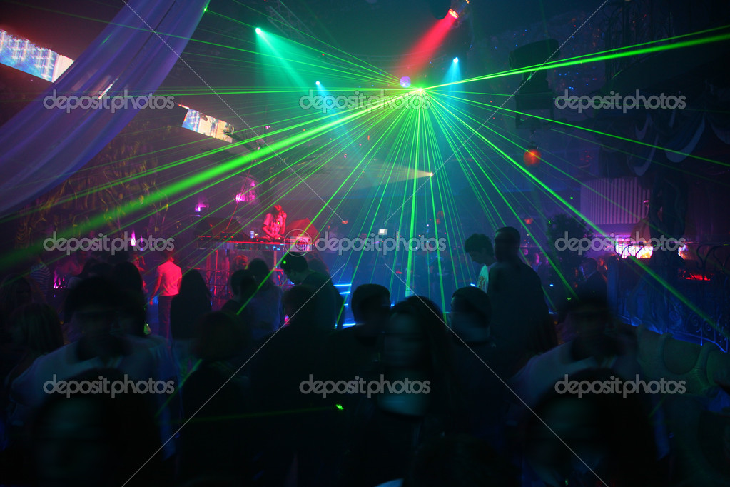 Laser disco — Stock Photo #3643984