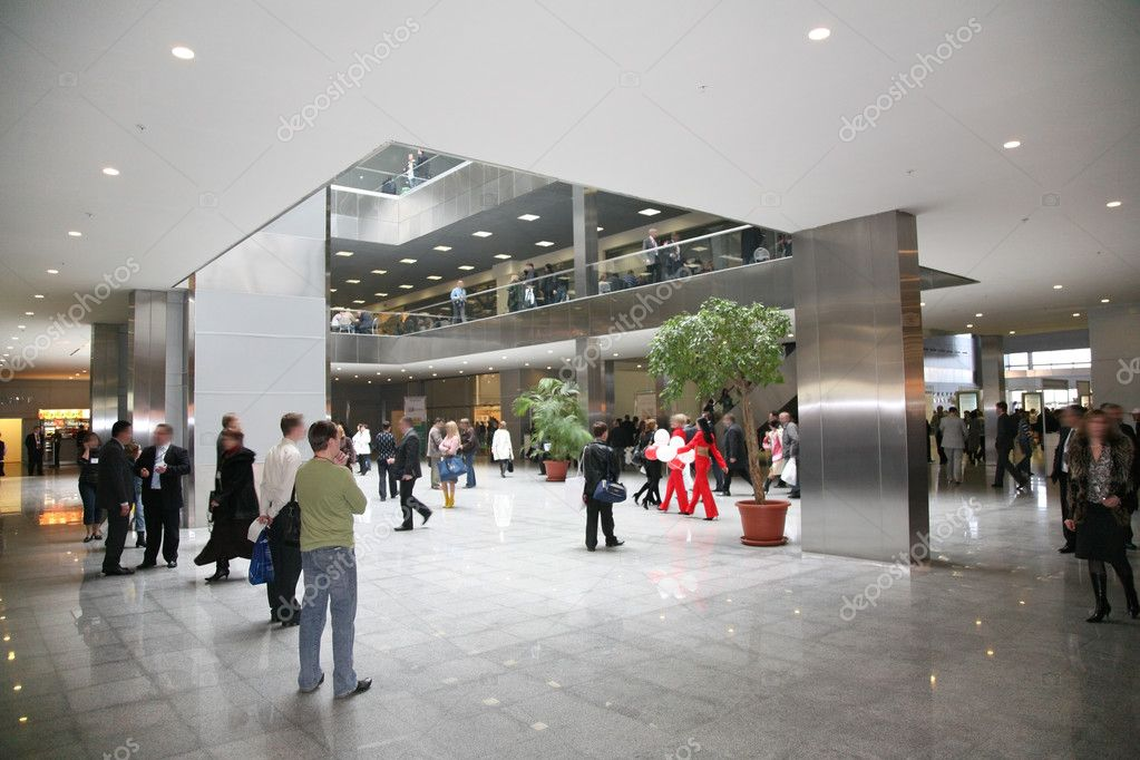Business hall 2  Stock Photo #3644869