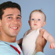 Father with baby 3 — Stock Photo