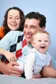 Family with baby 3 — Stock Photo