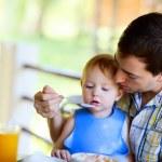 Family breakfast — Stock Photo #3587066