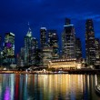 Night Singapore — Stock fotografie