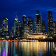 Stock Photo: Night Singapore
