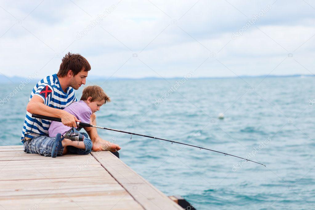 папа ты идешь на рыбалку