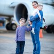 Family travelling — Stock Photo
