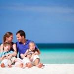 Family on vacation — Stock Photo
