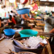 Stock Photo: Seafood market