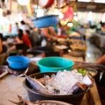 Seafood market — Stock Photo