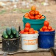 Road market in Tanzania — Stock Photo