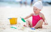 Beach vacation — Stock Photo