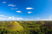 Bohol Chocolate Hills — Stock Photo